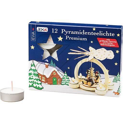 Pyramiden-Teelichter