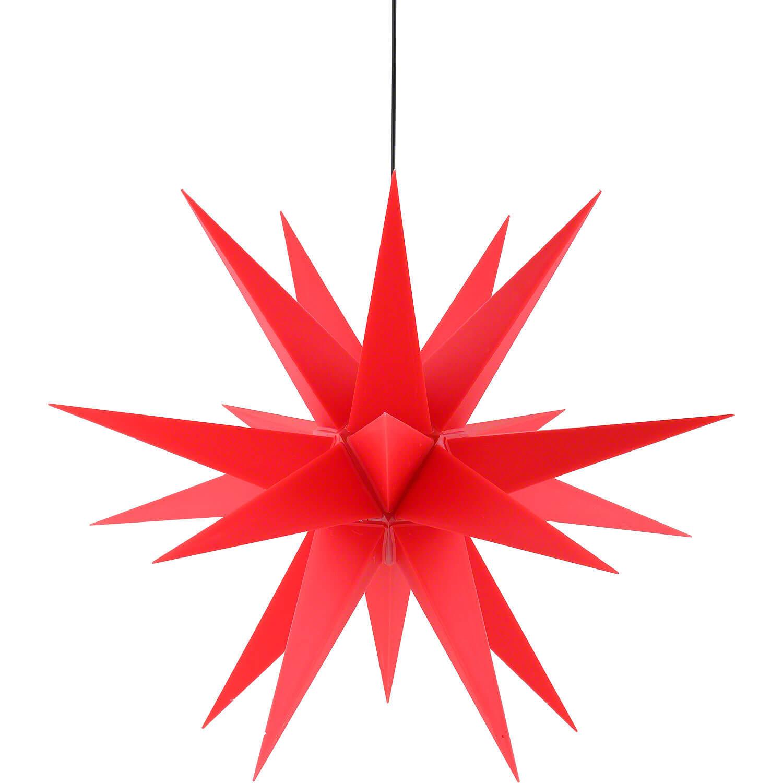 Saico WS2003 LED-Weihnachtsstern Ø 60cm rot