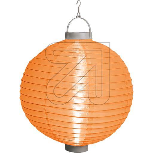 LED-Lampion orange Ø 30cm 38882