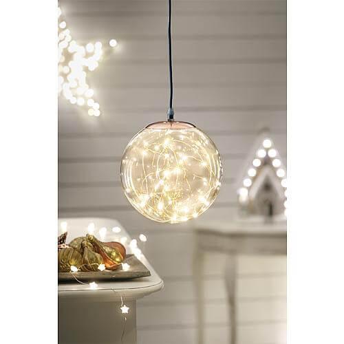 LED Dekoleuchte 'Kugel' 20cm 39025