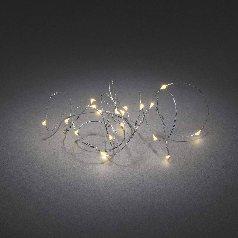 LED-Tropfenlichterkette Konstsmide 1461-890
