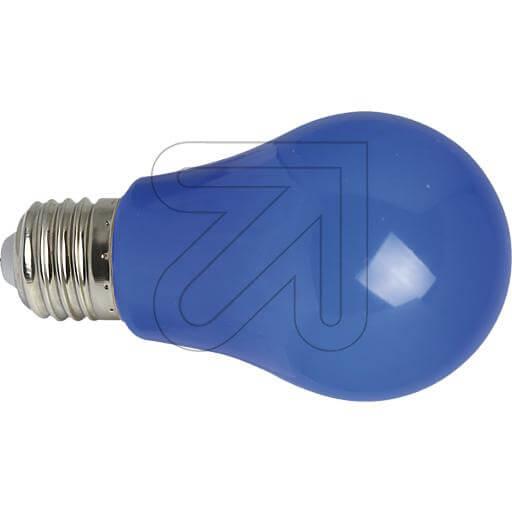LED-Deko-Lampe AGL E27 IP54 blau