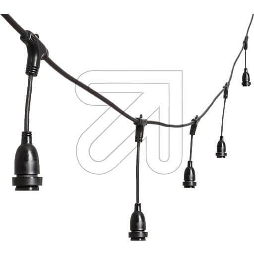 LED-PRO System-Eisregenkette schwarz 43800