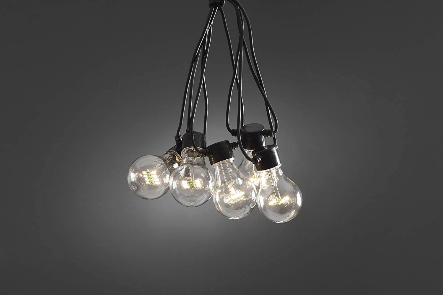 LED Garten Lichterkette Erweiterungskette