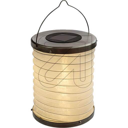 LED-Solar-Lampion mit 2 LEDs Ø 18x15cm 34501