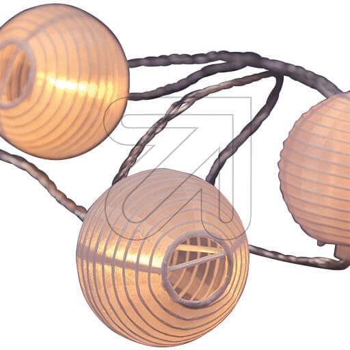 LED-Lampion-Lichterkette 16 Lampions Ø 8cm 33320