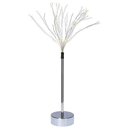 3D-LED-Standstern 'Firework' chromfarben CC105-54