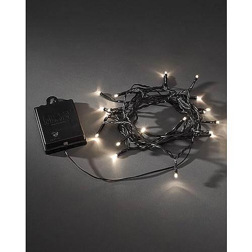 LED-Minilichterkette 80flg. Warmweiss 3728-100