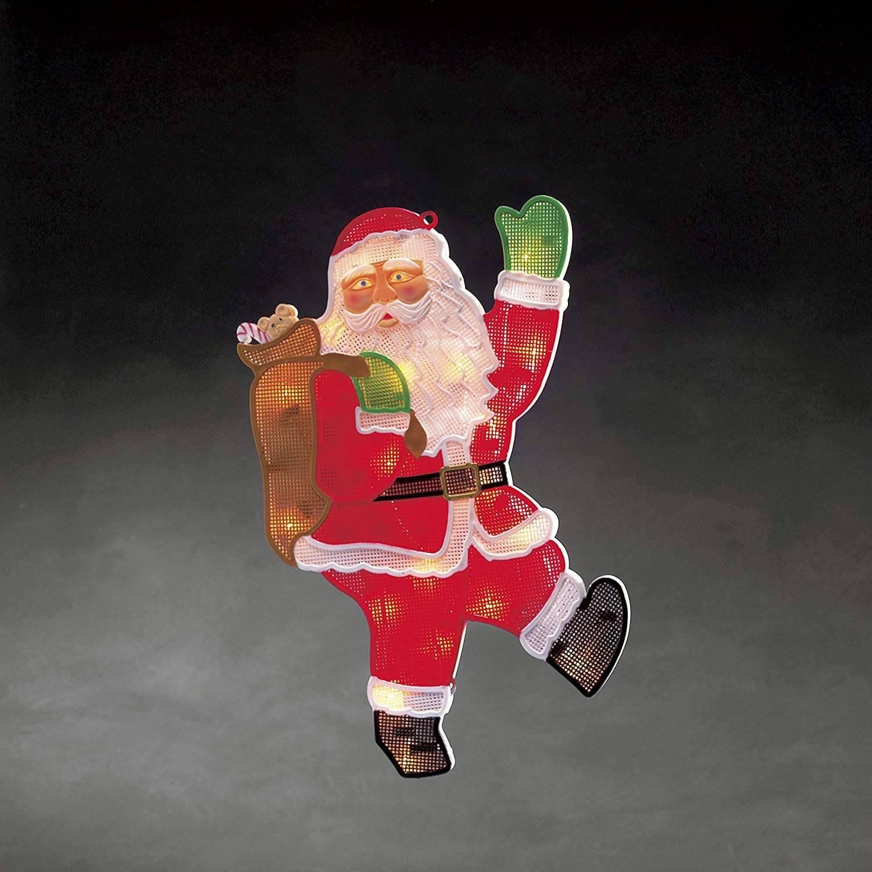 LED Fenstersilhouette Weihnachtsmann 2850-010