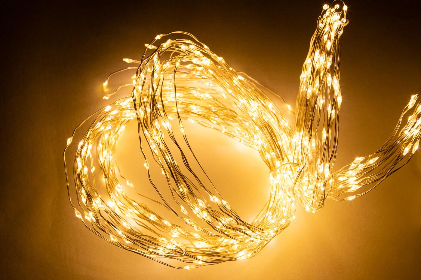 Micro LED-Lichtbündel 900 flg. Warmweiss Lotti 35348