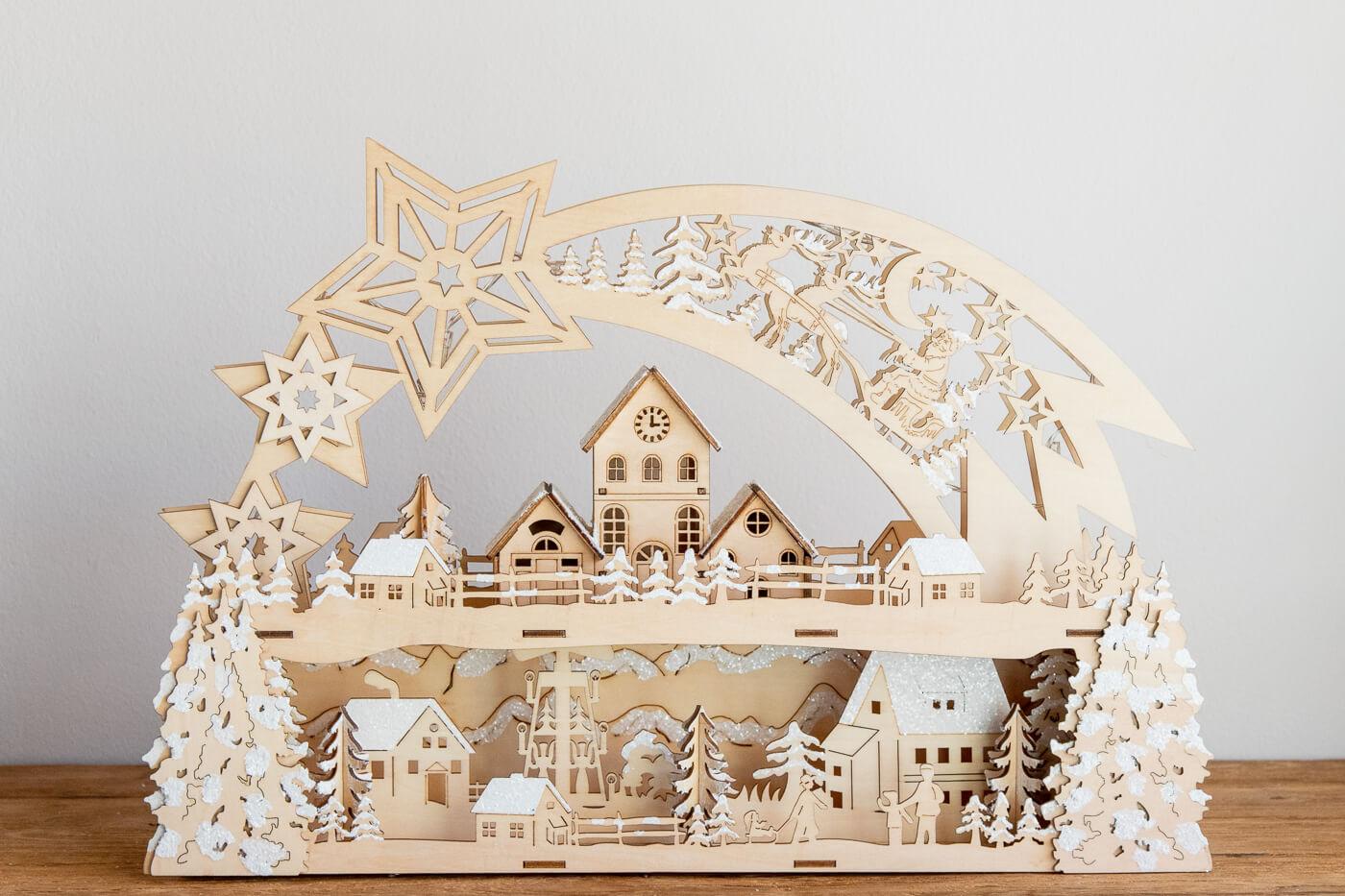 Lichterbogen 'Weihnachtsstern' Saico CLB25-9817