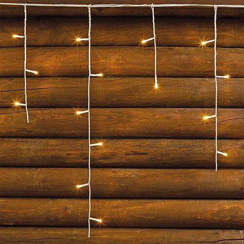 LED Eisregen-Lichtervorhang 255 ww LED 33238
