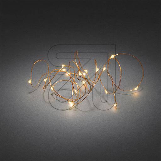 LED-Tropfenlichterkette Konstsmide 1461-860