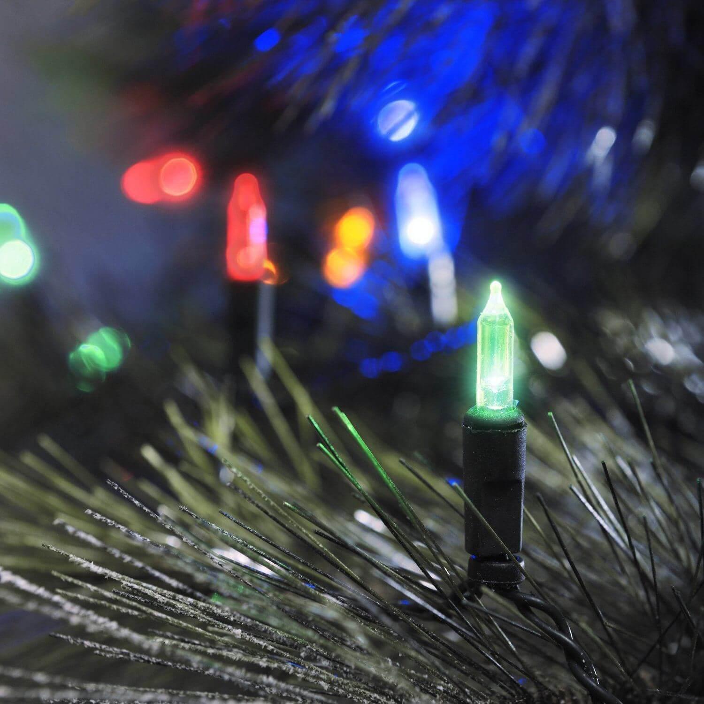 Konstsmide 6004-500 LED-Minilichterkette mit 40 LEDs bunt