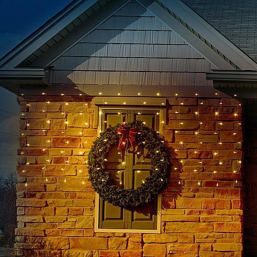 LED Lichtervorhang 120 warmweiß LED 66267