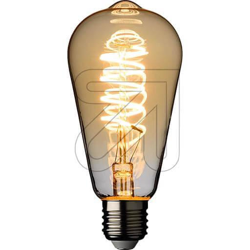 LED-Filament-Vintagelampe ST64 E27 4W 240lm 2200K 44111