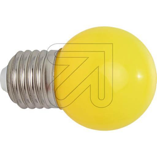 LED-Deko-Tropfenlampe E27 IP54 gelb
