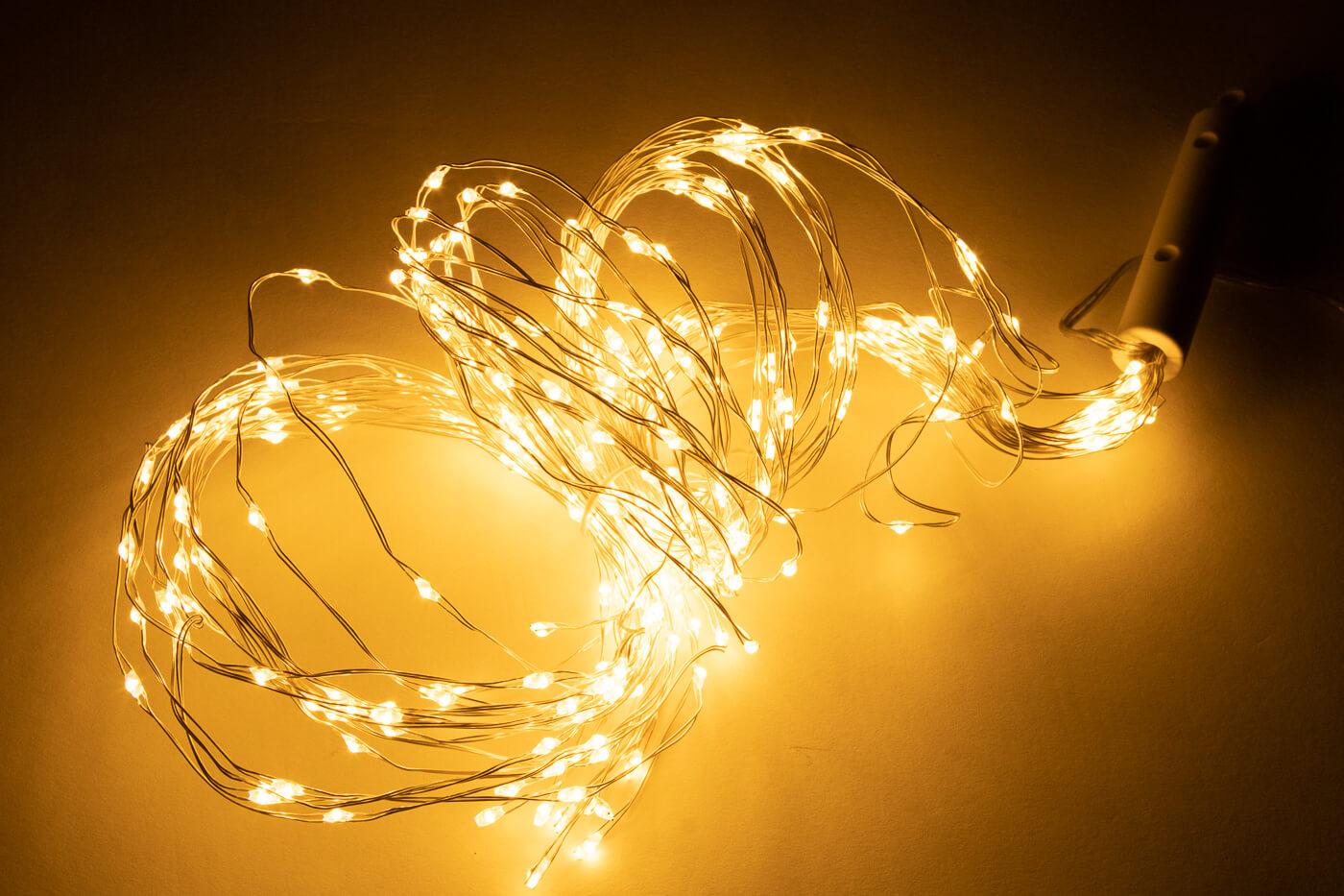 Lichtbündel Kette LED 300 flg. warmweiss Lotti 35300