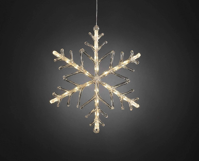 LED Acryl Schneeflocke 24 ww LED 4540-103