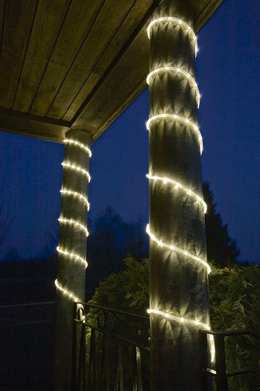 LED Lichterschlauch Silhouette