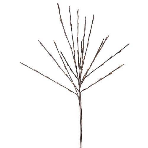 LED-Baum braun 110x40cm 860-25