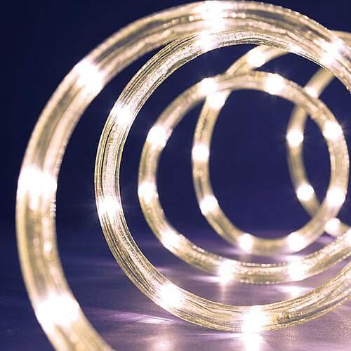 LED-Lichtschlauch warmweiß 9m 36123