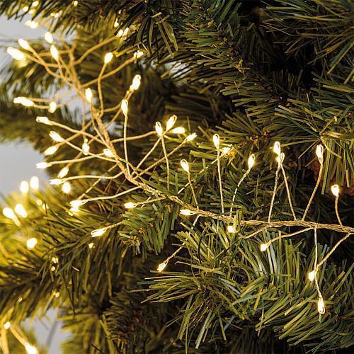 Cluster LED-Lichterkette 720 flg. warmweiss Lotti 55315