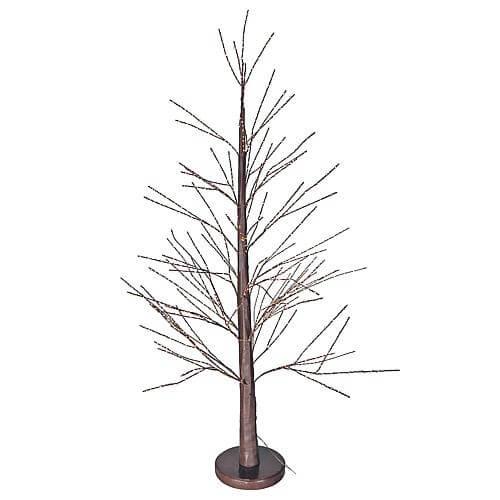 LED-Baum Kiefer 750 warmweisse LED braun Lotti 55063