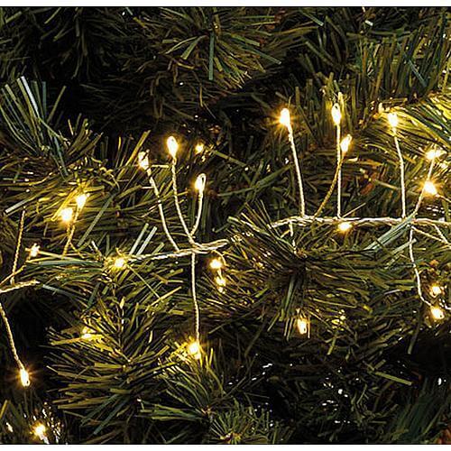 Cluster Lichterkette Micro LEDs 1080 flg. warmweiss Lotti 55360