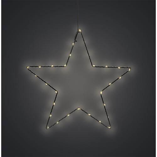 LED-Drahtstern 30cm 76630