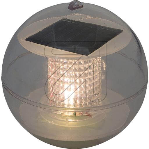 LED-Solar-Schwimmkugel 1 LED warmweiß 35430