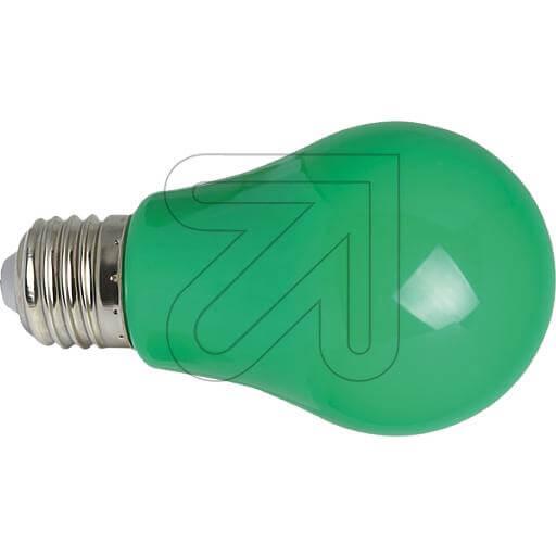 LED-Deko-Lampe AGL E27 IP54 grün