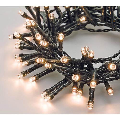 LED Lichterkette 96 warmweisse LED 30930