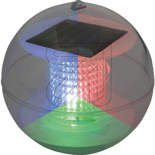 LED-Solar-Schwimmkugel 1 LED RGB 35447