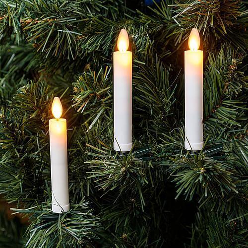Kabellose LED-Weihnachtskerzen 10er-Set 69039
