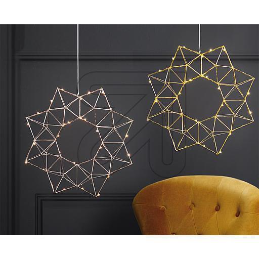 LED-Drahtstern-Edge 690-50